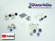 Earring Kit Silver - 5 Sets
