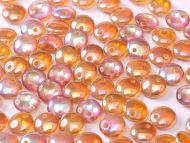 L1-00030/98535 Crystal Rainbow Orange Lentils 1-Hole