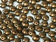 L1-23980/14415 Antique Bronze Lentils 1-Hole - 30 x * BUY 1 - GET 1 FREE *