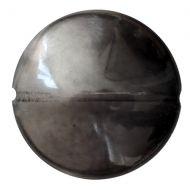 LT-40020/14400 Black Diamond Luster Lentil Puca Vintage 21 mm - 2 x * BUY 1 - GET 1 FREE *