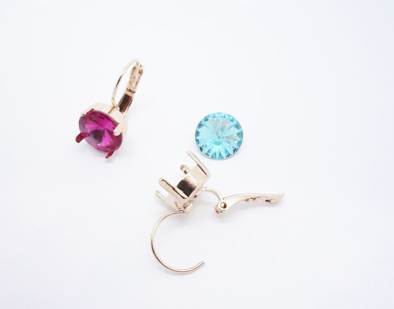 Settings Earrings 10 mm