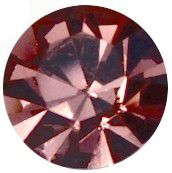 PC47 Light Burgundy Chaton 10 mm SS47 Preciosa