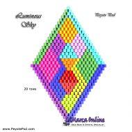 Tutorial Luminous Sky 3D Peyote Pod + Basic Tutorial Little 3D Peyote Pod (download link per e-mail)