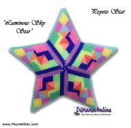 Tutorial Luminous Sky 3D Peyote Star + Basic Tutorial Little 3D Peyote Star (download link per e-mail)