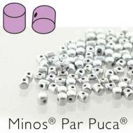 MIN-01700 Silver Satin Minos par Puca * BUY 1 - GET 1 FREE *