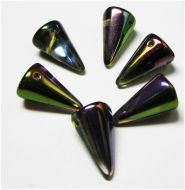 SPK18-00030/95000 Magic Orchid Iris Fat Spikes 12x18 mm