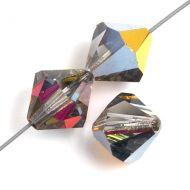 Crystal Marea 2 x 4 mm Bicone Preciosa