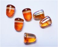 G10-00030/29121 Crystal Medium Apricot Gumdrops 7x10 mm