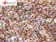 O-00030/98533 Crystal Rainbow Copper O-Beads