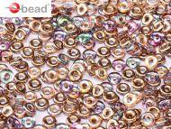 O-00030/98533 Crystal Rainbow Copper O-Beads