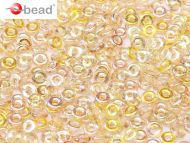 O-00030/98534 Crystal Rainbow Lemon O-Beads