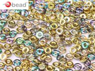O-00030/98536 Crystal Rainbow Gold O-Beads
