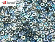 O-00030/98537 Crystal Rainbow Graphite O-Beads