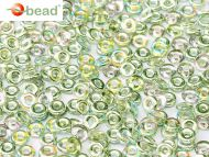 O-00030/98539 Crystal Rainbow Green O-Beads