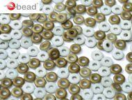 O-03000/22671 Chalk Valentinite Matt O-Beads