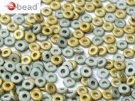 O-03000/26471 Chalk Amber Matt O-Beads