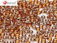 O-10060/27101 Topaz Capri Gold O-Beads