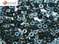 O-23980/27637 Jet Blue Sky O-Beads
