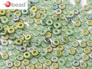 O-50510/28171 Peridot Vitrail Matt O-Beads