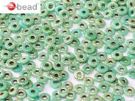 O-63130/43400 Green Turquoise Picasso O-Beads