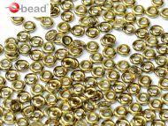 O-70120/26441 Rosaline Amber (Gold) O-Beads