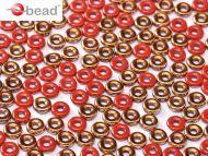 O-93200/27137 Opaque Red Sunset O-Beads