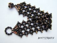 O-Lace Bracelet Kit Black by Akke Jonkhof