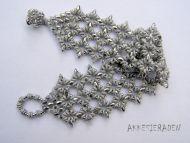 O-Lace Bracelet Kit Silver by Akke Jonkhof