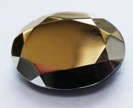 OV1813-26737 Tabac Full Oval Glass 18x13 mm