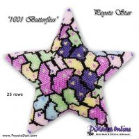 Tutorial 1001 Butterflies 3D Peyote Star + Basic Tutorial (download link per e-mail)
