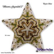 Tutorial Bicone Jugendstil 2 - 3D Peyote Star + Basic Tutorial (download link per e-mail)