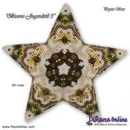 Tutorial Bicone Jugendstil 3 - 3D Peyote Star + Basic Tutorial (download link per e-mail)