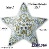 Tutorial Christmas Collection 2019 Star 2 - 3D Peyote Star + Basic Tutorial Little 3D Peyote Star