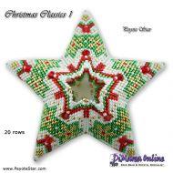 Tutorial Christmas Classics 1 - 3D Peyote Star + Basic Tutorial Little 3D Peyote Star (download link per e-mail)
