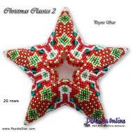 Tutorial Christmas Classics 2 - 3D Peyote Star + Basic Tutorial Little 3D Peyote Star (download link per e-mail)