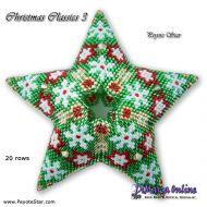 Tutorial Christmas Classics 3 - 3D Peyote Star + Basic Tutorial Little 3D Peyote Star (download link per e-mail)