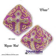Tutorial Cross 3D Peyote Pod + Basic Tutorial Little 3D Peyote Pod (download link per e-mail)