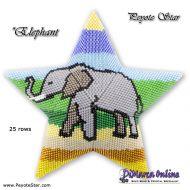 Tutorial Elephant 3D Peyote Star + Basic Tutorial Little 3D Peyote Star (download link per e-mail)