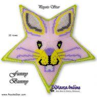 Tutorial Easter Funny Bunny 3D Peyote Star + Basic Tutorial Little 3D Peyote Star