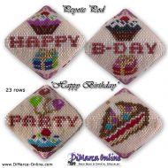 Tutorial Happy Birthday 3D Peyote Pod + Basic Tutorial Little 3D Peyote Pod (download link per e-mail)