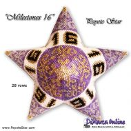 Tutorial Milestones 16 - 3D Peyote Star + Basic Tutorial (download link per e-mail)