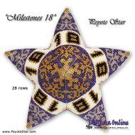 Tutorial Milestones 18 - 3D Peyote Star + Basic Tutorial (download link per e-mail)
