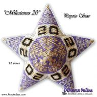 Tutorial Milestones 20 - 3D Peyote Star + Basic Tutorial (download link per e-mail)
