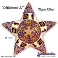 Tutorial Milestones 21 - 3D Peyote Star + Basic Tutorial (download link per e-mail)