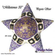 Tutorial Milestones 30 - 3D Peyote Star + Basic Tutorial (download link per e-mail)