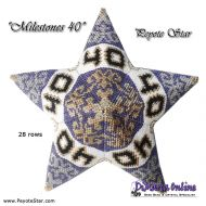 Tutorial Milestones 40 - 3D Peyote Star + Basic Tutorial (download link per e-mail)