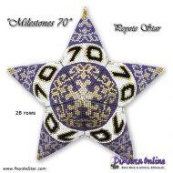 Tutorial Milestones 70 - 3D Peyote Star + Basic Tutorial (download link per e-mail)