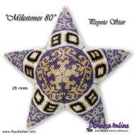 Tutorial Milestones 80 - 3D Peyote Star + Basic Tutorial (download link per e-mail)