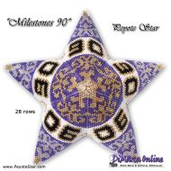 Tutorial Milestones 90 - 3D Peyote Star + Basic Tutorial (download link per e-mail)