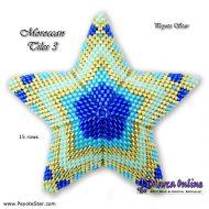 Tutorial Moroccan Tiles 3 - 3D Peyote Star + Basic Tutorial Little 3D Peyote Star (download link per e-mail)